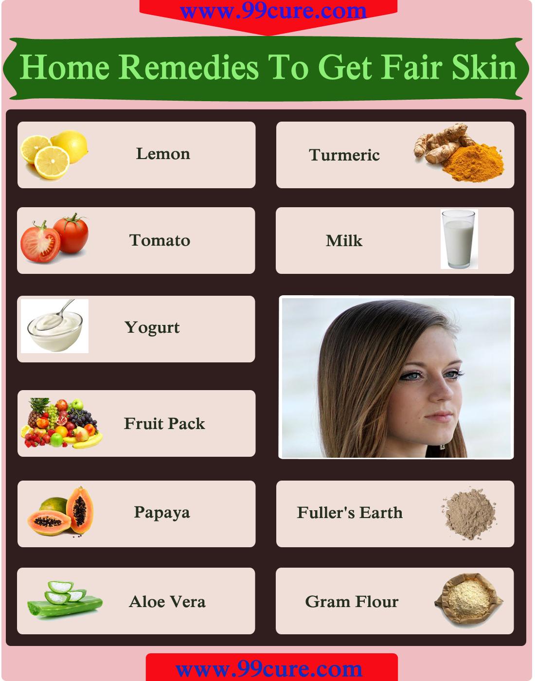 Home Remedies To Get Fair Skin