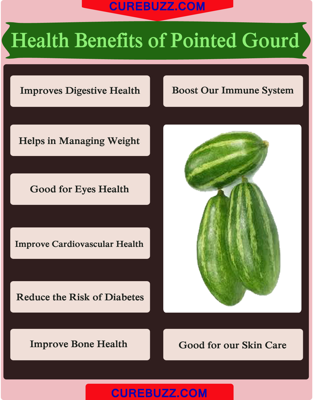 Health Benefits of Pointed Gourd