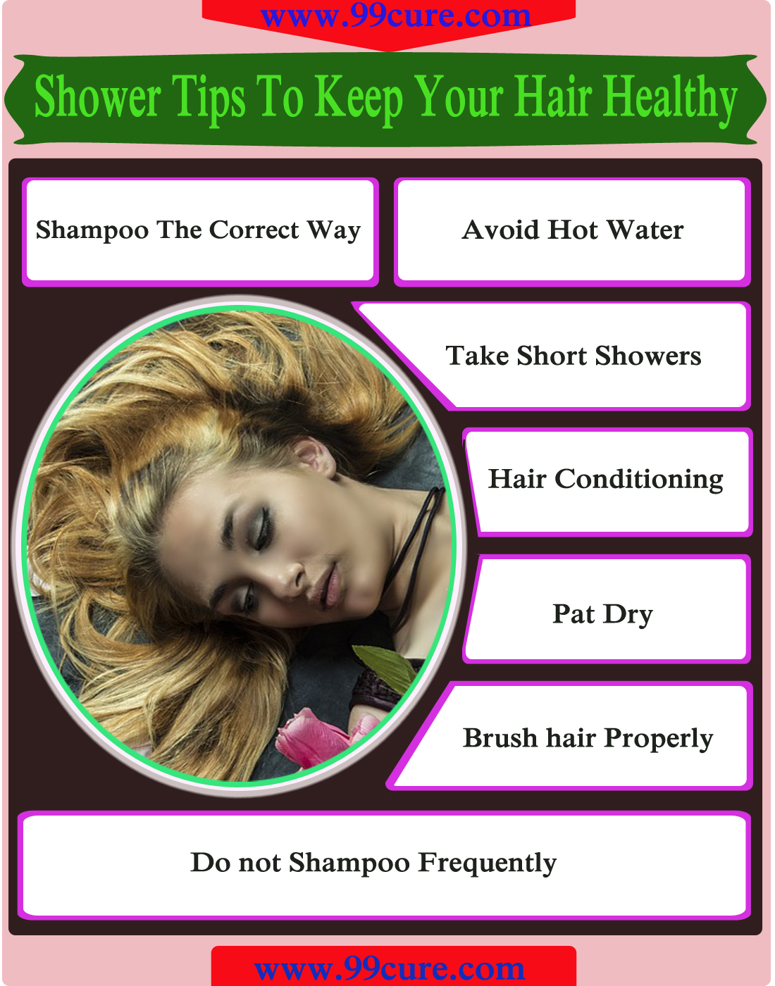 Shower Tips To Keep Your Hair Healthy