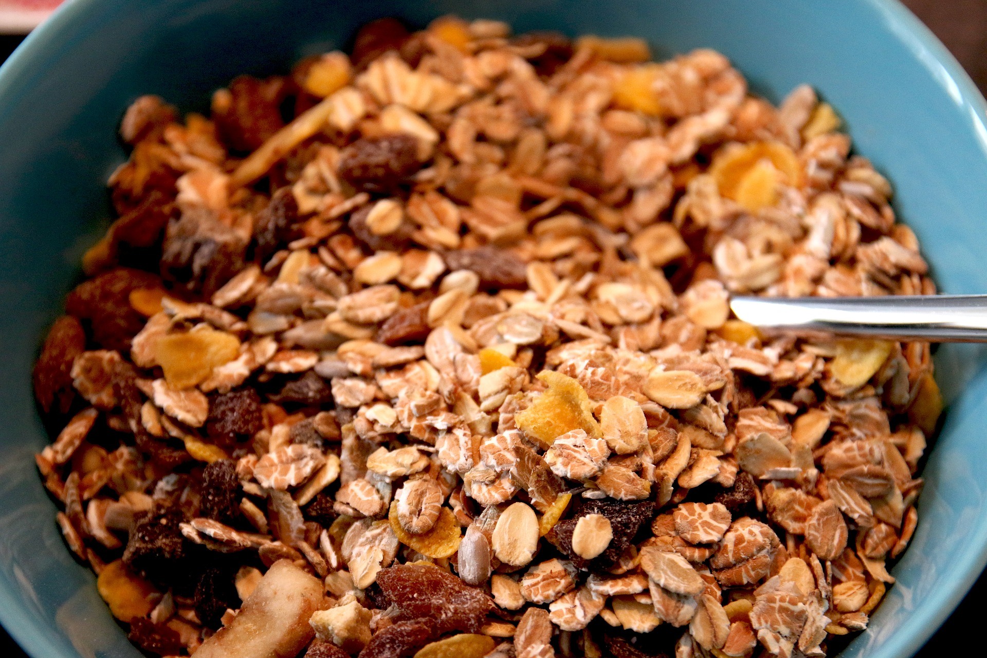cereals rich in iron