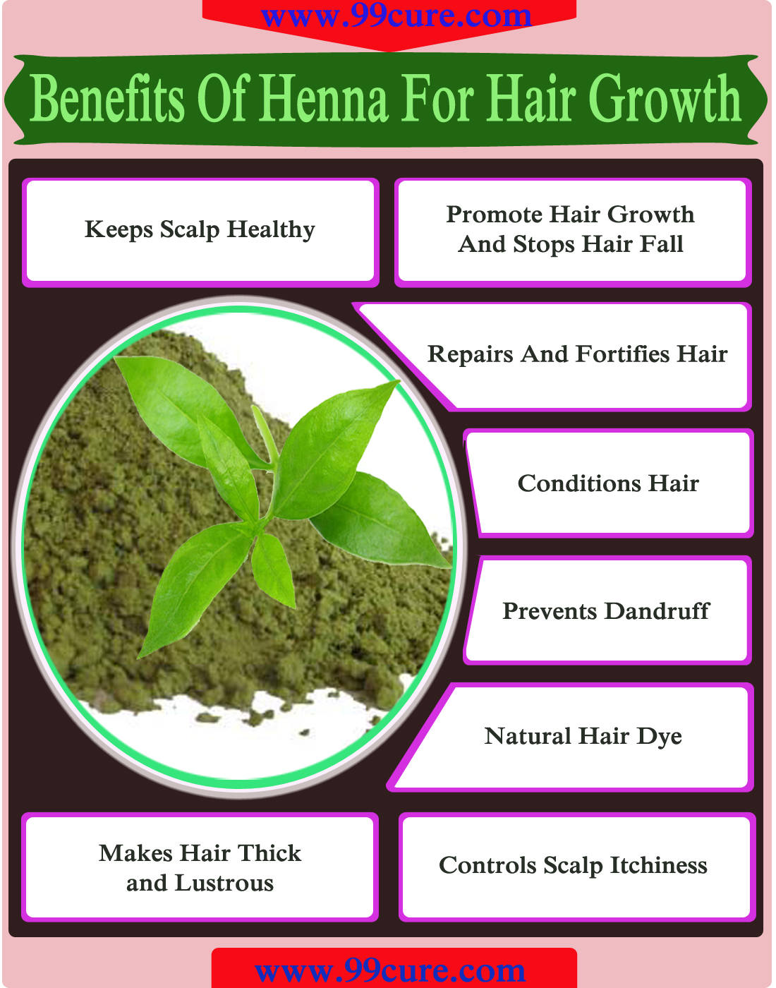 8 Benefits Of Henna For Hair Growth Curebuzz