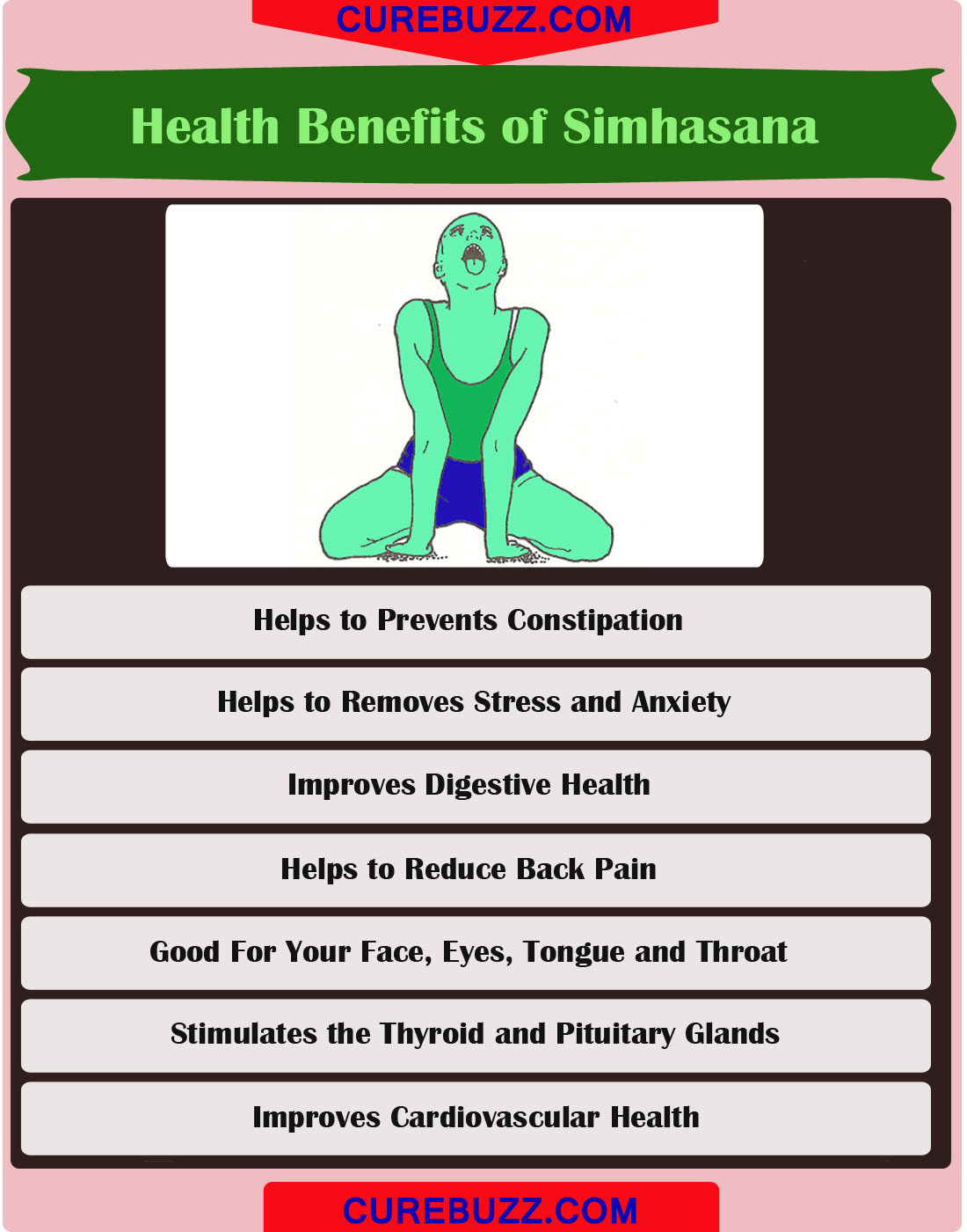 Health Benefits of Simhasana