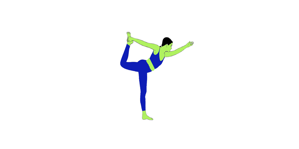How to do Natarajasana (Lord of the Dance Pose): Steps ...