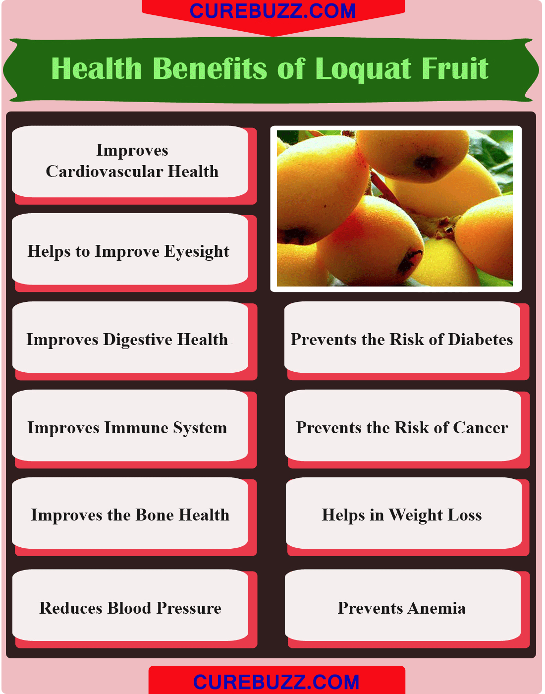 10 health benefits of loquat fruit : curebuzz