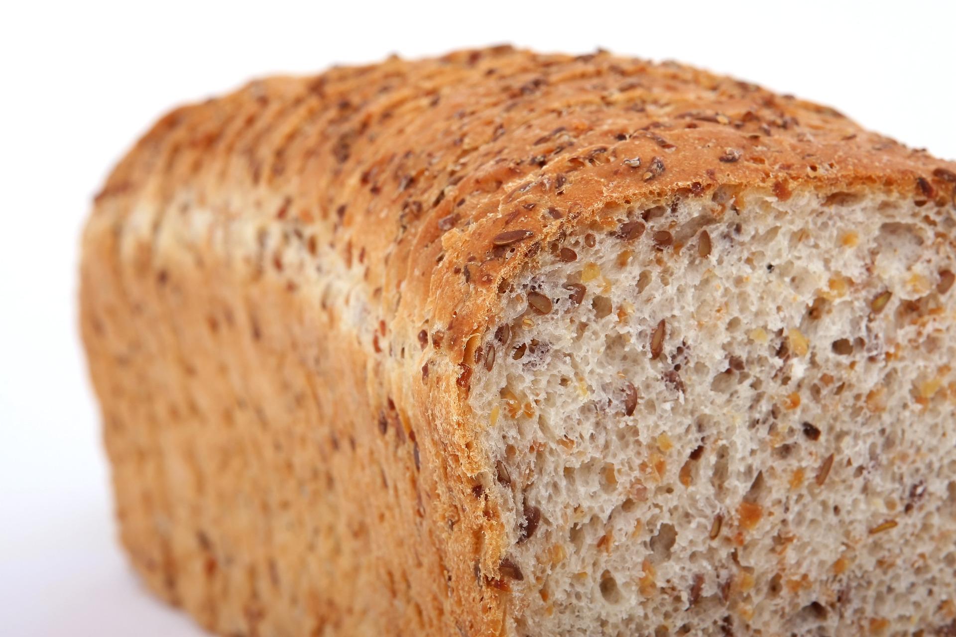 Bread high in sugar