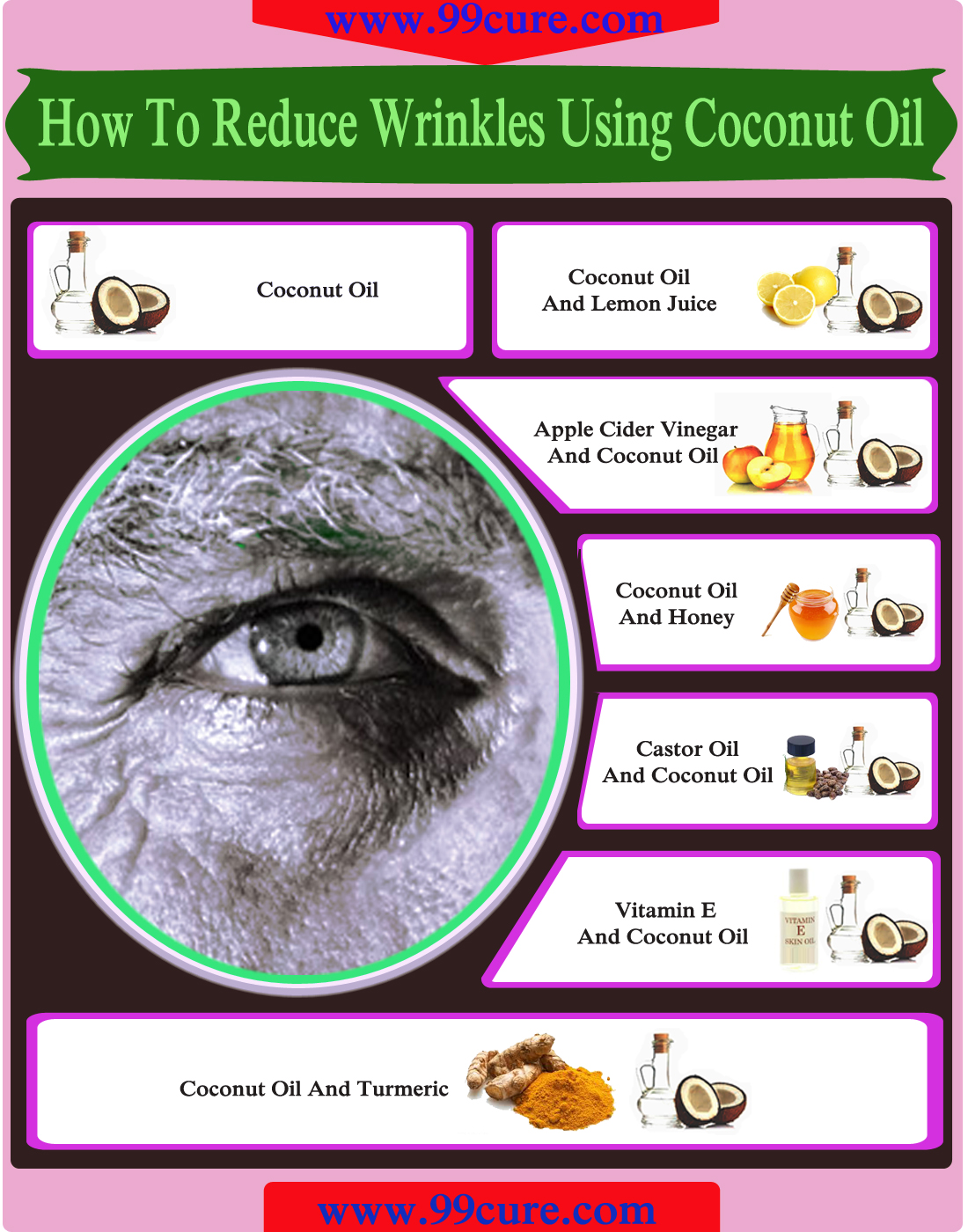 How To Reduce Wrinkles Using Coconut Oil