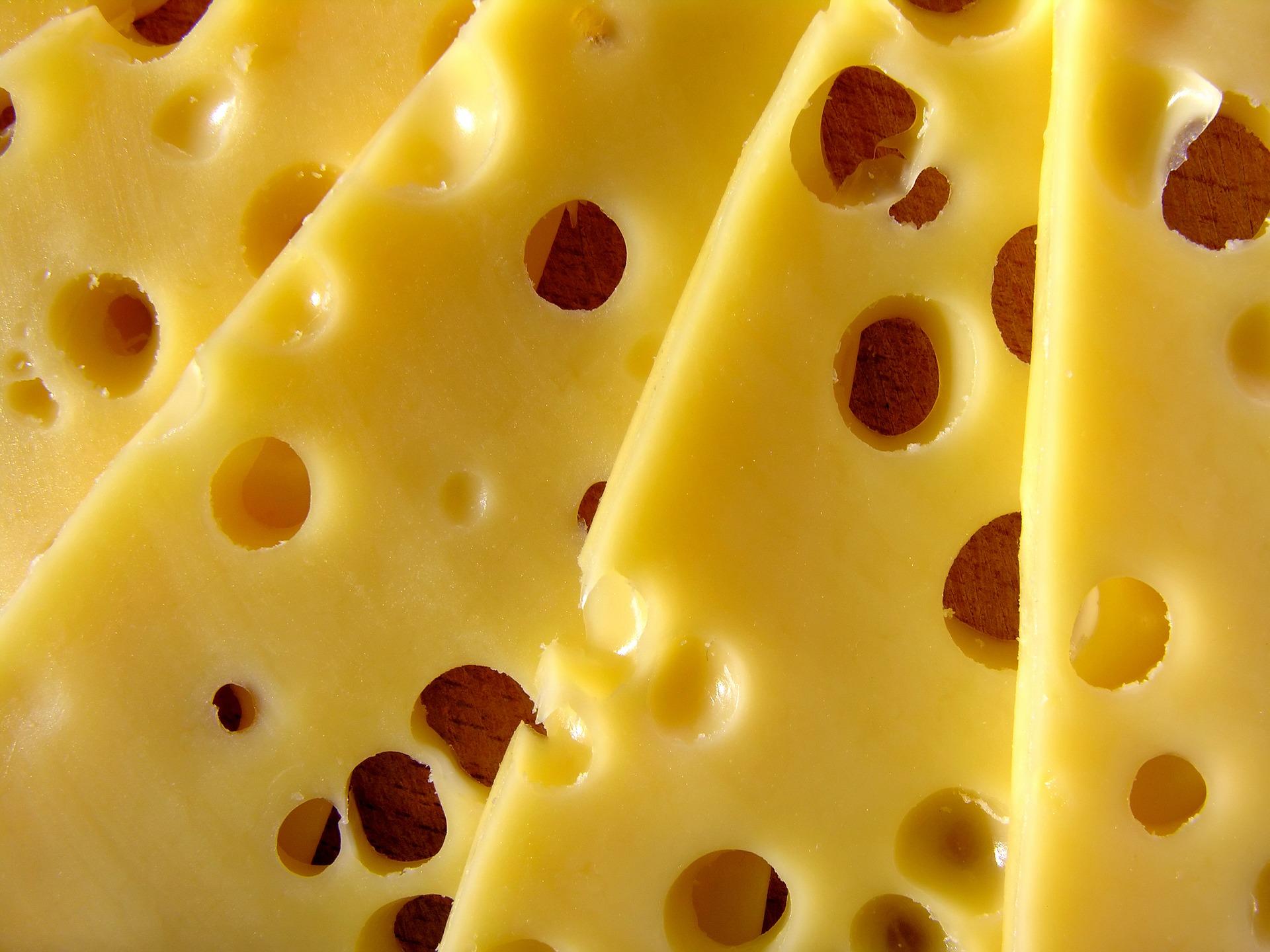 Cheese high in vitamin D