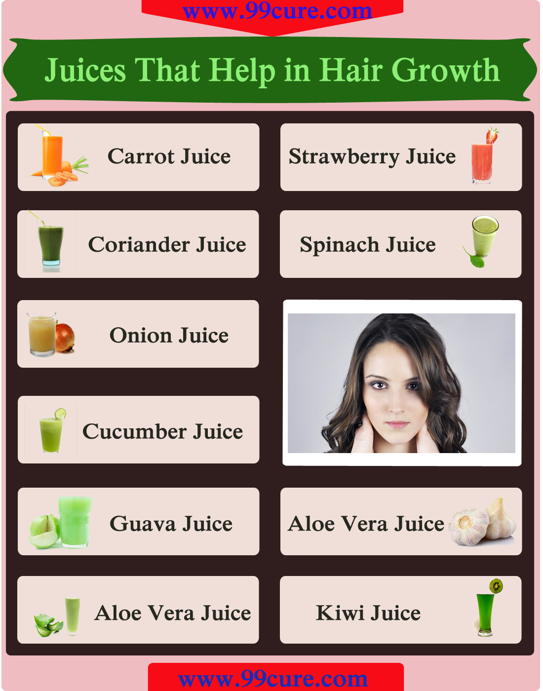 Juices That Help in Hair Growth